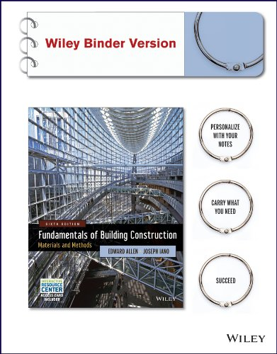Download Fundamentals of Building Construction: Materials and Methods with Interactive Resource Center Access Card, 6th Edition Binder Ready Version