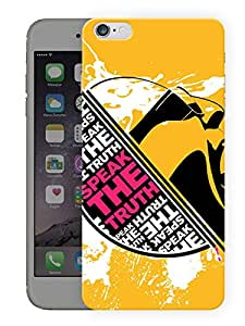 "Humor Gang Speak The Truth Printed Designer Mobile Back Cover For ""Apple Iphone 7"" (3D, Matte, Premium Quality Snap On Case)"