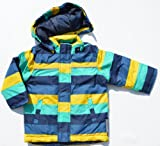 Name it Baby Jungen Winter Jacke MELLON Mini Jacket AOP 13093161 STRIPES DRESS BLUES Gr. 86