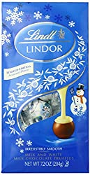 Lindt LINDOR Snowman Milk with White Chocolate Truffle, 7.2 oz.