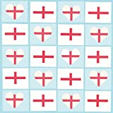 St. George's Cross Tattoos (Pack of 36)