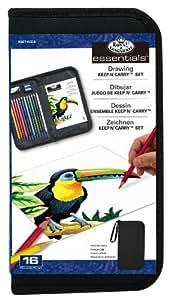 Amazon.com: Fundamentos de dibujo Mantenga N 'Carry Set