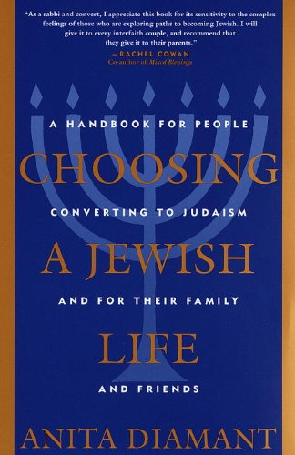 Choosing A Jewish Life: A Handbook For People Converting To Judaism And For Their Family And Friends front-588408