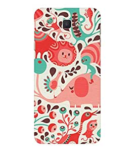 EPICCASE the caterpillar Mobile Back Case Cover For Samsung Galaxy J7 Prime (Designer Case)