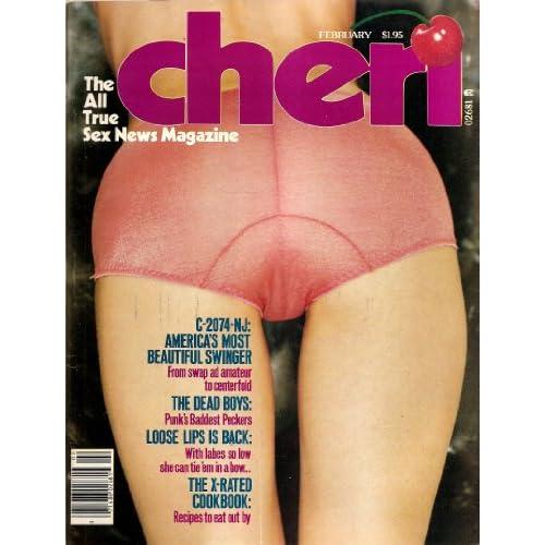 Cheri Magazine February 1978 Cherry Bomb