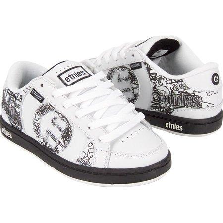 ETNIES Capital Boys Shoes - White/Black - Buy ETNIES Capital Boys Shoes - White/Black - Purchase ETNIES Capital Boys Shoes - White/Black (Etnies, Apparel, Departments, Shoes, Children's Shoes, Boys)