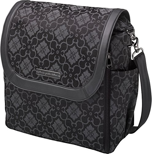 Petunia Pickle Bottom Fall 2014 Boxy Backpack, Paris Noir front-999278