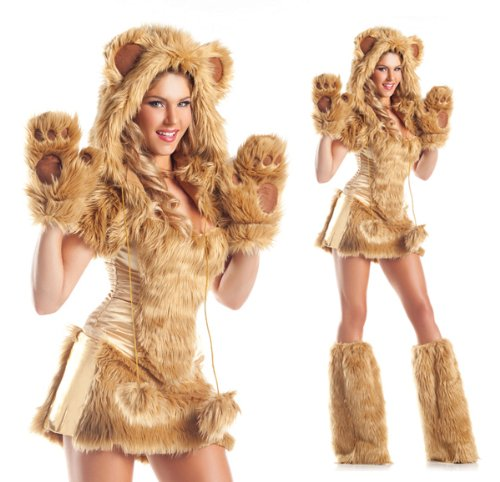 Be Wicked Costumes Women's Golden AR Costume