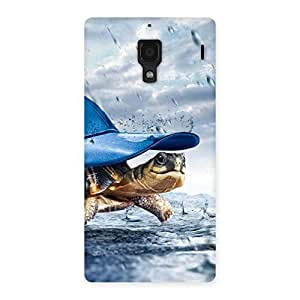 Stylish Wow Turtle Multicolor Back Case Cover for Redmi 1S