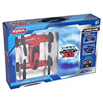 *Latest Technology* Syma X9 RC Remote Control Quadcopter Drone Flying Car 2.4GHz 4 CH 6 Axis Gyro includes BONUS BATTERY - ONLINE EXCLUSIVE RED COLOR