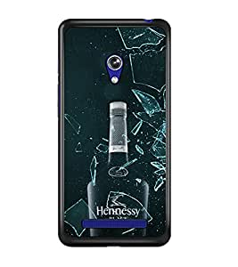 PrintDhaba Bottle D-4338 Back Case Cover for ASUS ZENFONE 5 A501CG (Multi-Coloured)