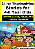 21 Fun Thanksgiving Stories for 4-8 Years Olds