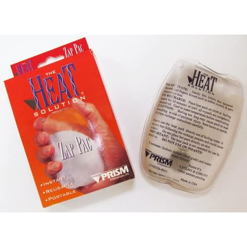 Amazon.com: The Heat Solution - Zap Pac - Reusable Instant Hand Warmer