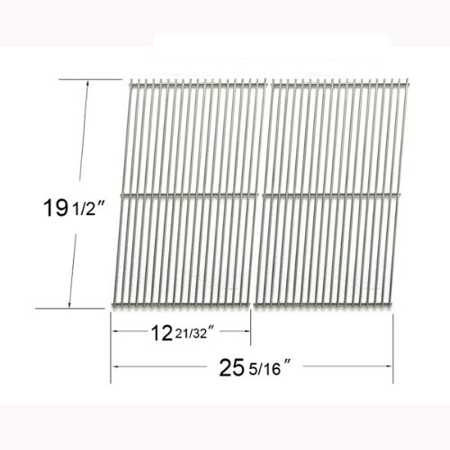 7528-Cooking Grates For Weber Genesis 300 Series Gas Grills