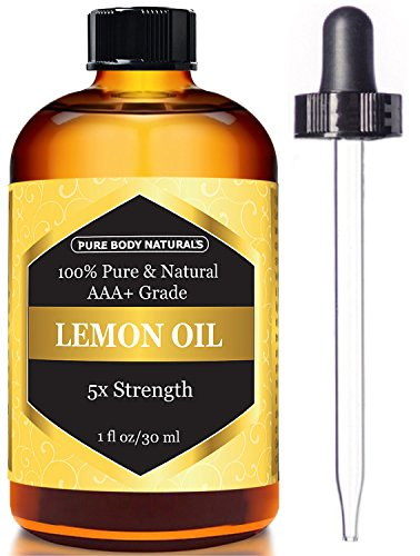 Lemon-Essential-Oil-for-Aromatherapy-5x-Extra-Strength-1-fl-oz-by-Pure-Body-Naturals