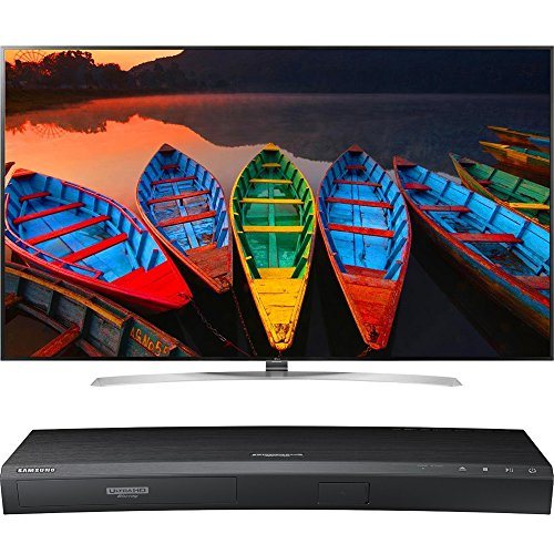 LG 86-Inch 4K Super UHD Smart TV with webOS 3.0 (86UH9500) with Samsung 3D Wi-Fi 4K Ultra HD Blu-ray Disc Player