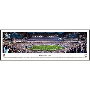NFL Indianapolis Colts Framed Panoramic Stadium Photo by Blakeway Worldwide Panoramas