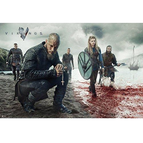 GB eye, Vikings, Blood Landscape, Maxi Poster, 61x91.5cm