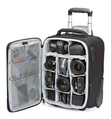 Lowepro Pro Roller x100 AW Digital SLR Camera Bag/Backpack Case with Wheels (Black)