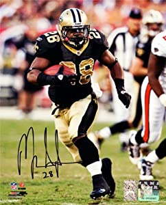 Mark Ingram Autographed Hand Signed 8x10 Photo New Orlean Saints MI Holo ID #76064 by Hall of Fame Memorabilia