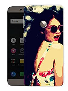 "Humor Gang Trendy Classy Girl Printed Designer Mobile Back Cover For ""Letv Le 1S"" (3D, Matte, Premium Quality Snap On Case)"