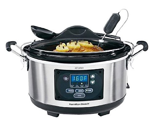 Hamilton Beach 33967 Set 'n Forget 6-Quart Programmable