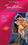 Memory Lapse (0263795691) by Kathleen O'Brien