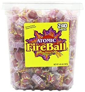 Atomic FireBall 240 Pieces 4.05lb