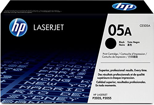 HP 05A (CE505A) Black Original LaserJet Toner Cartridge
