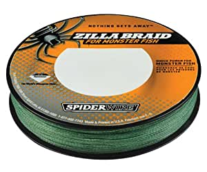 Buy spiderwire zilla braid fishing line 50 pound test for Amazon fishing line
