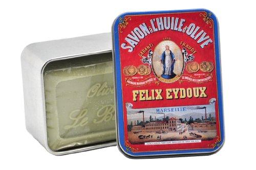 leblanc-seife-in-nostalgie-blechdose-savon-de-marseille-duft-olivenol-1er-pack-1-x-100-g