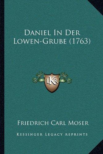 Daniel in Der Lowen-Grube (1763)