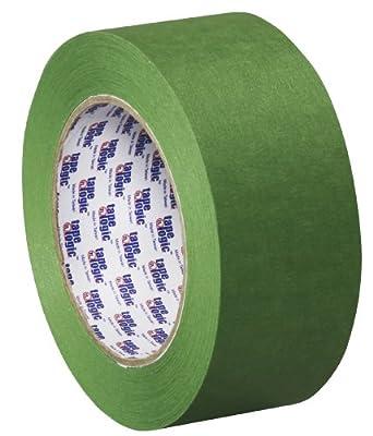"Tape Logic T937320012PK Painter's Tape, 60 yds Length x 2"" Width, Green (Case of 12)"