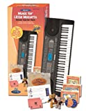 Alfreds Music for Little Mozarts, Deluxe Starter Pack (Electric Piano, Accessories, Lesson Books, CDs, Activity Board, Plush Toys, Tote Bag)