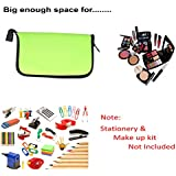 Multipurpose Pouch - Stylish Multi Functional Neoprene Soft Pouch - Used As Stationery Pouch / Cosmetic Make Up...