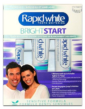 Rapid White Two Step 1 Week Tooth Whitening System