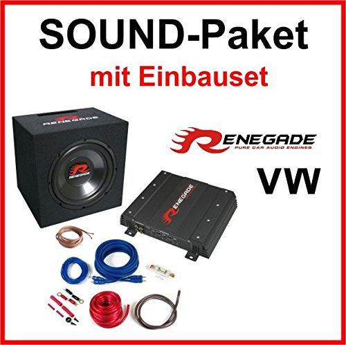 Subwoofer-Sound-Paket-fr-VW-Golf-4
