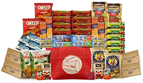 healthy-snacks-gift-box-college-dorm-militarybreakroom-bundle-gift-45-countnc