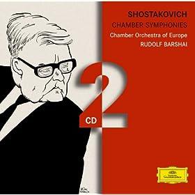 Shostakovich: Chamber Symphonies (2 CD's)