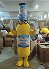 Mascot Costume Adult Character Costume Mascot As Fashion Free Shipping Cosplay Beer Bottle