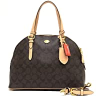Coach 26184 Peyton Signature Domed Co…