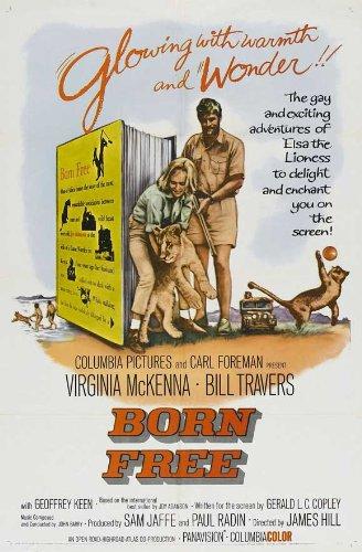 Born Free Movie Poster (27 X 40 Inches - 69Cm X 102Cm) (1966) -(Virginia Mckenna)(Bill Travers) front-817825
