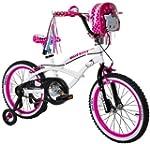 Hello Kitty Girl's Bike, White, 18-Inch