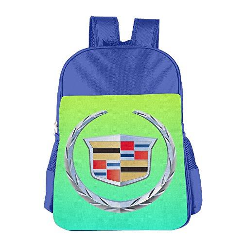launge-kids-cadillac-logo-school-bag-backpack