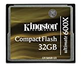 Kingston 32GB Ultimate 600x: CF/32GB-U3 (CF/32GB-U3)