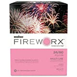 Boise Fireworx Color Copy/Laser Paper, 24 lb, Letter Size (8.5 x 11), Hot Pink Mimi, 500 Sheets (MP2241-HP)