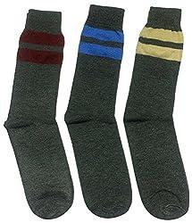 Graceway Unisex Woolen Socks - Set Of 3 Socks (5Su9)