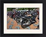 Framed Print of Motorcycles in Pattaya, ...