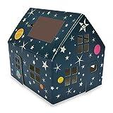 Casagami Solar-Häuschen - Stars hergestellt von LITOGAMI