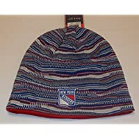 New York Rangers Knit Hat by Reebok KM50Z